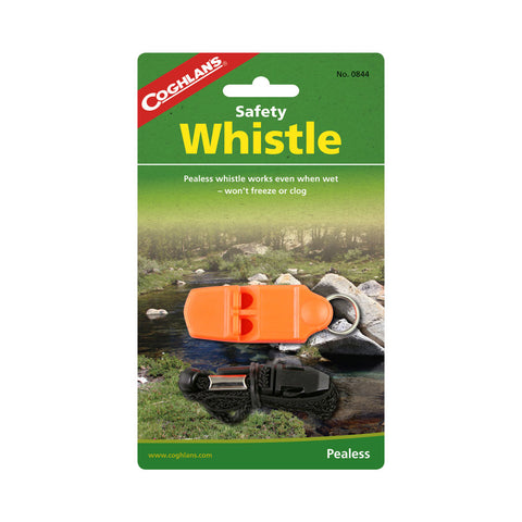 Coghlans Pealess Safety Whistle with Lanyard