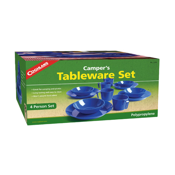 Coghlan's 4-Person Campers Tableware Set