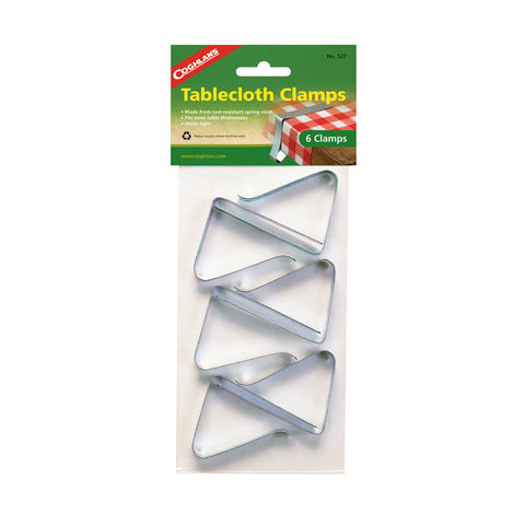Coghlans 6 Pack Tablecloth Clamps