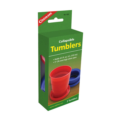 Coghlans 2 Pack Collapsible Tumblers