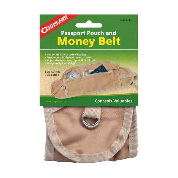 Coghlan's Passport Pouch & Money Belt