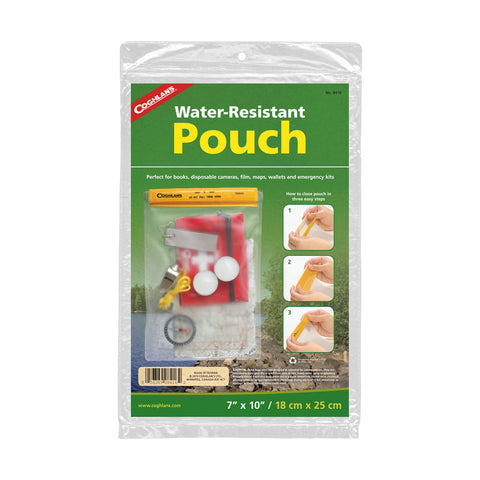 "Coghlans 7"" x 10"" Water Resistant Pouch"