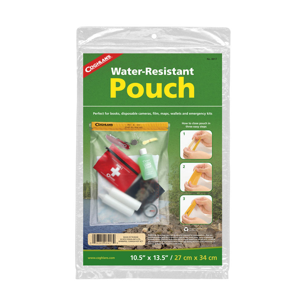 "Coghlan's  10½"" x 13½"" Water Resistant Pouch"