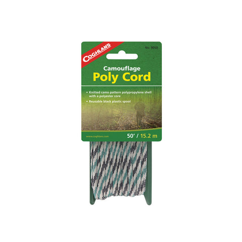 Coghlans 50' Camo Braided Poly Cord