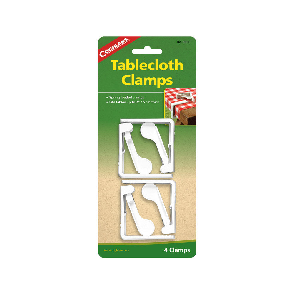 Coghlan's 4 Pack Tablecloth Clamps