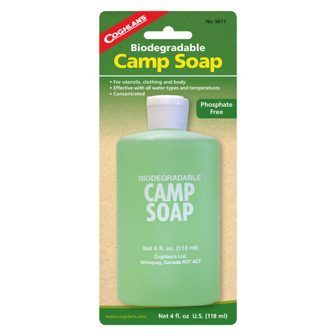 Coghlans Biodegradable Camp Soap