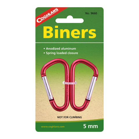 Coghlans 2 pack 5mm Biners