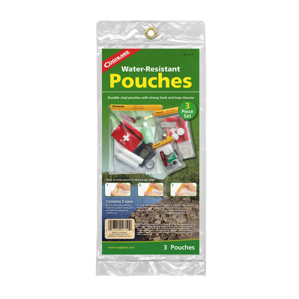Coghlan's 3pc Waterproof Pouches Set