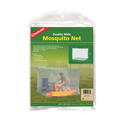 Coghlan's Double Wide Mosquito Net - White