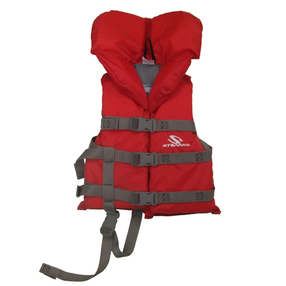 Coleman PFD Child Head's Up Vest Red