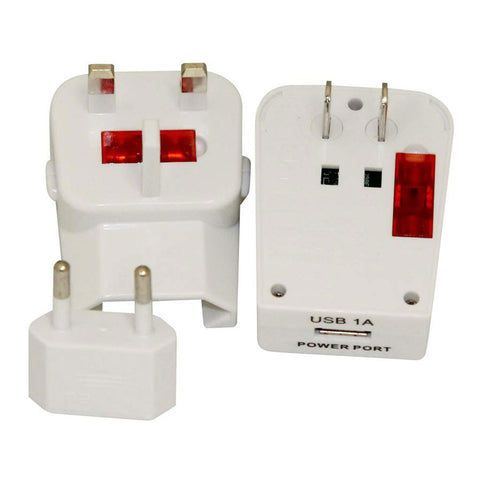 USB Universal Travel Plug Adapter