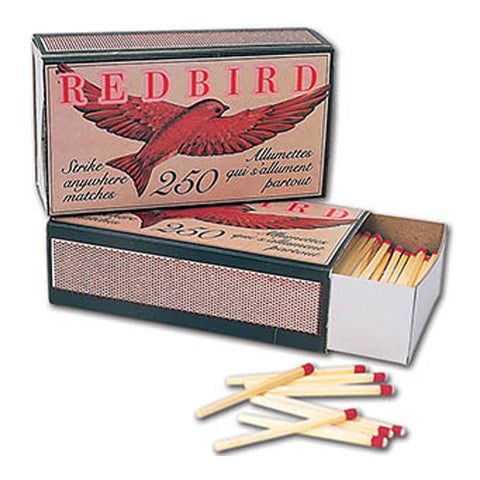 2pk Red Bird Matches