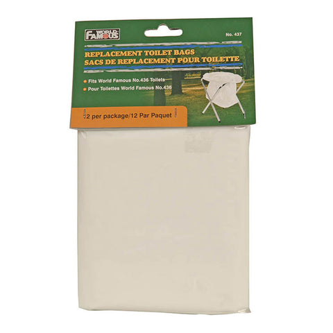 12pk Replacement Toilet Bags