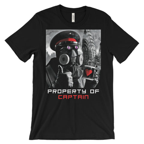 """Property of Captain"" T-shirt"