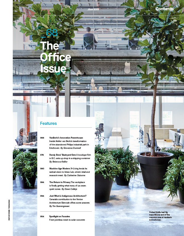 The Office Issue, June 2018, Contents Page 1