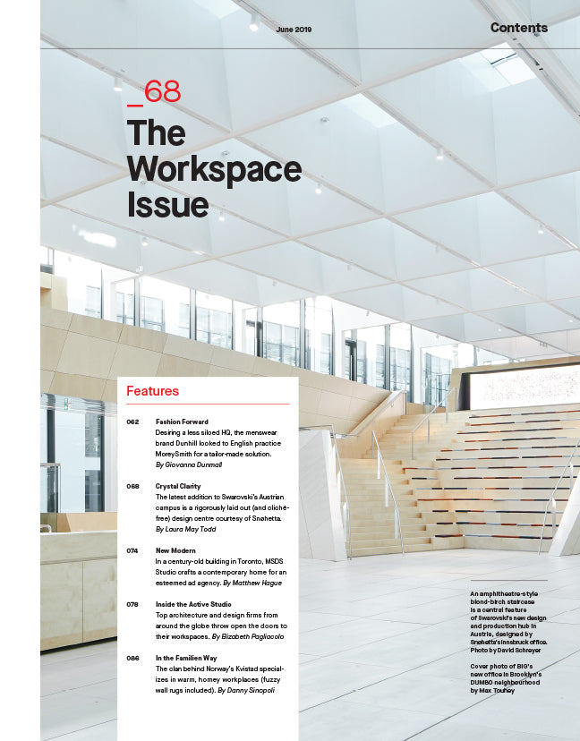 The Workspace Issue, June 2019 - Contents 2