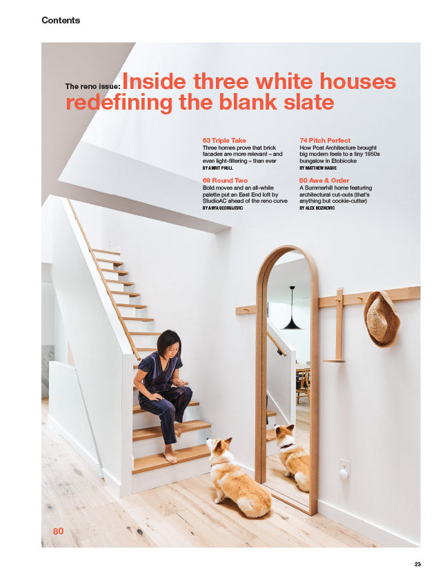 Our Reno Issue, Winter 2018 - Contents