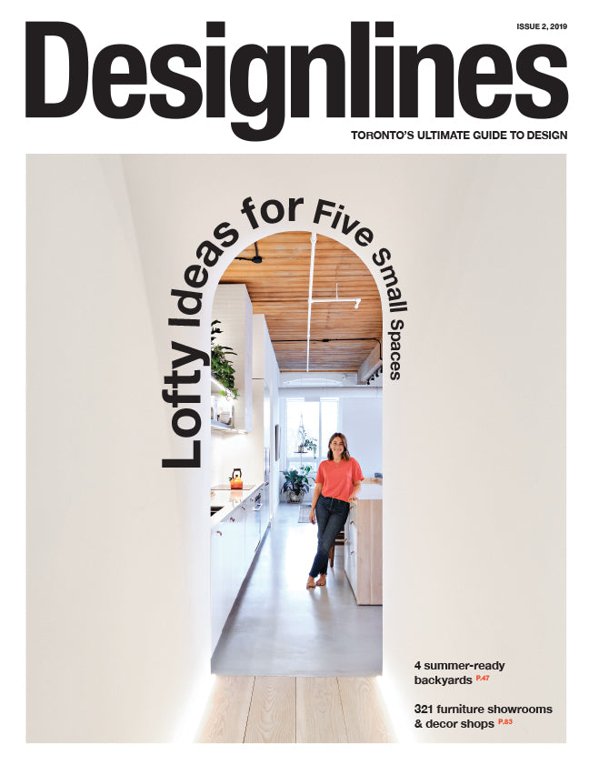 Designlines Magazine - Small Spaces Issue, Summer 2019 - Cover