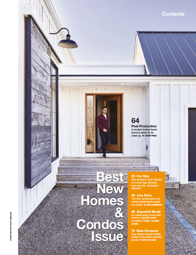 Best New Homes and Condos Issue, Fall 2018
