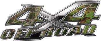 4x4 Offroad Decals Real Camo