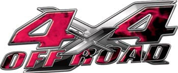 4x4 Offroad Decals Inferno Pink