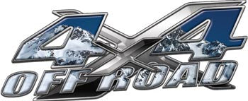 4x4 Offroad Decals Mountain Style