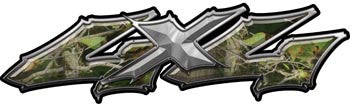 Wicked Series 4x4 Real Camo Decals