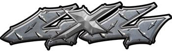 Wicked Series 4x4 Diamond Plate Decals