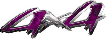 4x4 Truck, SUV or ATV Decals Inferno Purple