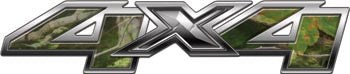Chevy/GMC Style 4x4 Decals Real Camo
