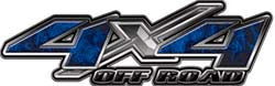 4x4 Offroad Decals Inferno Blue