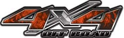 4x4 Offroad Decals Inferno Ornage