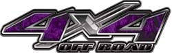4x4 Offroad Decals Inferno Purple
