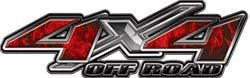 4x4 Offroad Decals Inferno Red