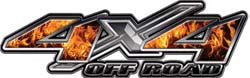 4x4 Offroad Decals Inferno