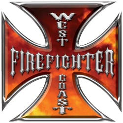 Copy of Iron Cross  - West Coast Firefighter - Inferno