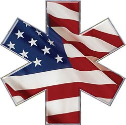 Star of Life - Flag