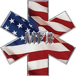 Star of Life - MFR- Flag