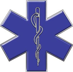 Star of Life - Blue