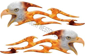 Tribal Inferno Fire Eagle Flames