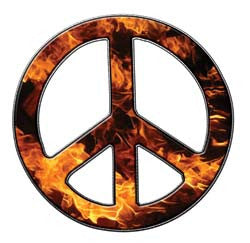 Peace Decal in Inferno
