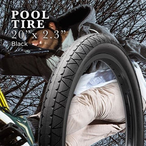 GT POOL BMX TIRES (WIRE BEAD)