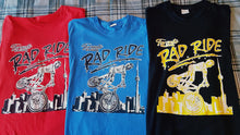 Load image into Gallery viewer, Rad Ride Tshirts