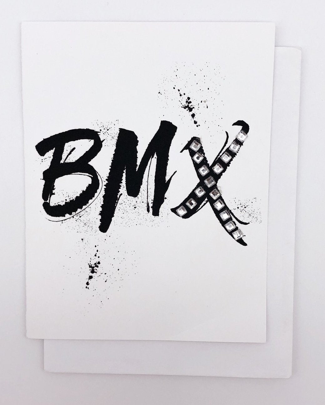 BMX  - GREETING CARD