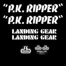 Load image into Gallery viewer, SE Bikes PK Ripper Decal Set