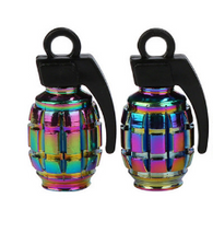 Grenade Valve Caps Oil Slick