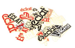 ECLAT STICKER PACK 39 ASSORTED STICKERS