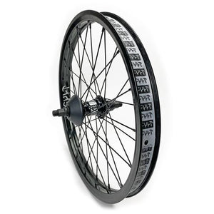 "Cult ""Crew"" 36 Hole LHD/RHD Rear Cassette Wheel with Guards - Black"