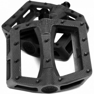 Cult Dak 9/16 Nylon Pedals - Black