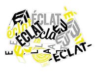 ECLAT FRAME STICKER PACK 20 ASSORTED STICKERS
